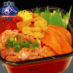【2】特選4色丼 900円