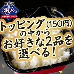 【21】お好み二色丼 600円