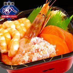 【33】エビ・カニ・サーモン丼 600円